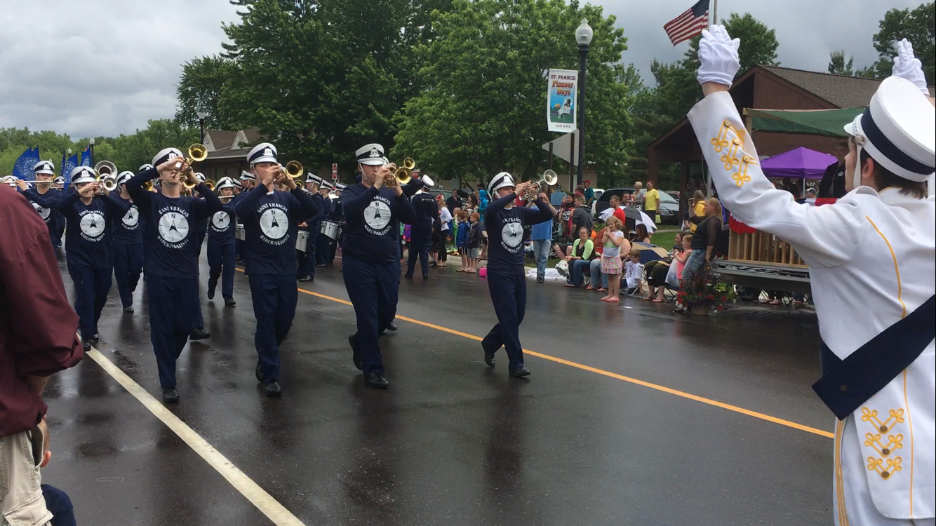 Marching Band Kicks Off Season With Pioneer Days Parade