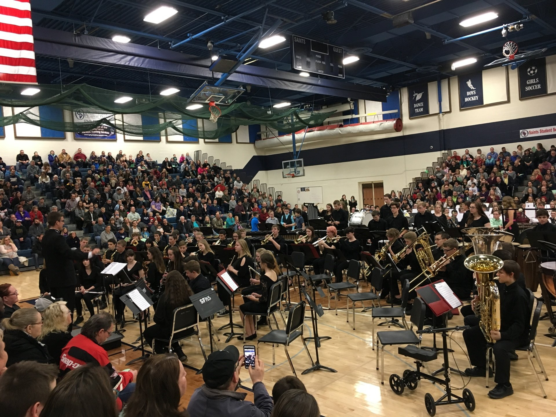 Symphonic Band - All District Concert 2017