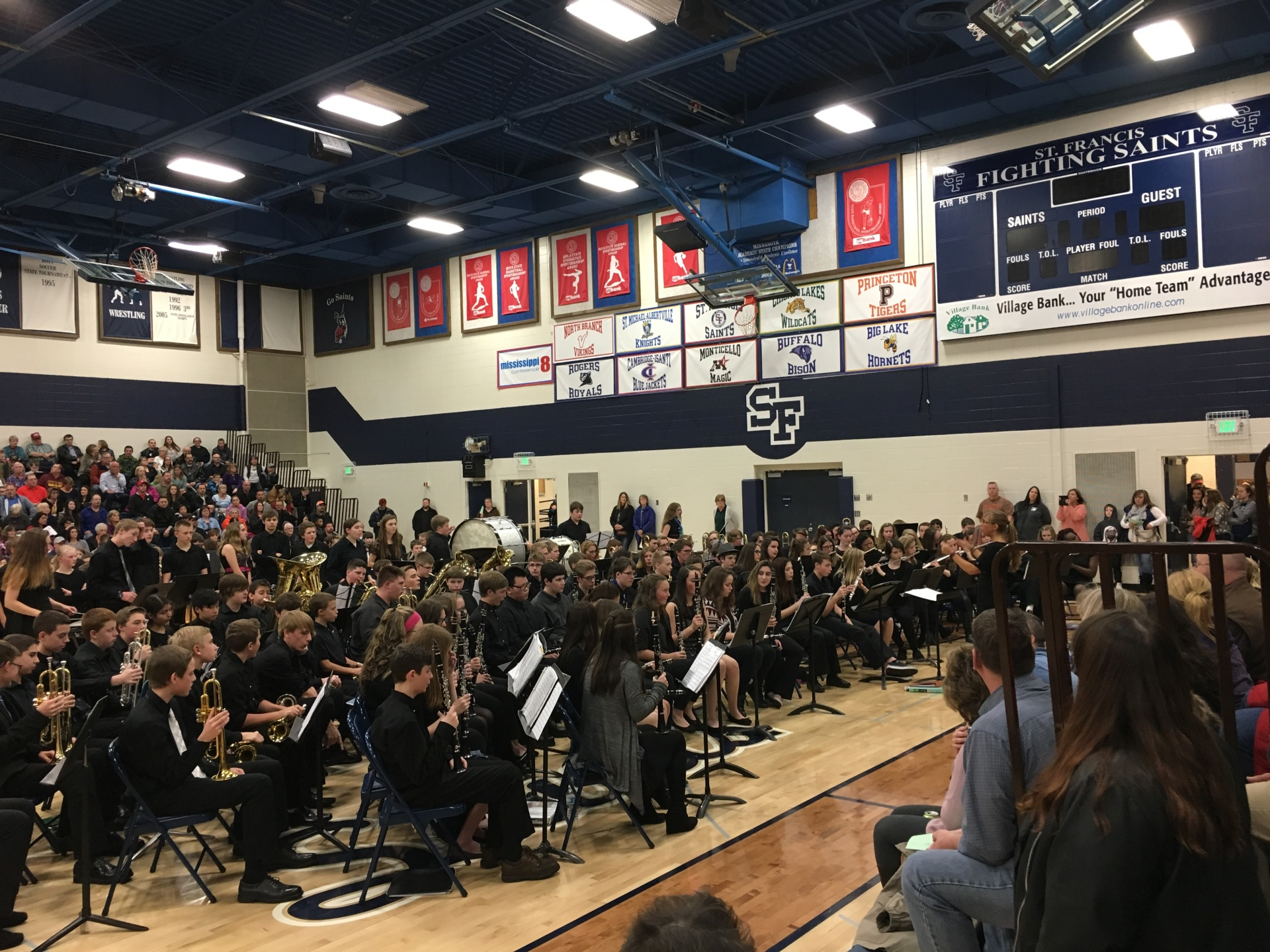 8th Grade Band - All District Concert 2017