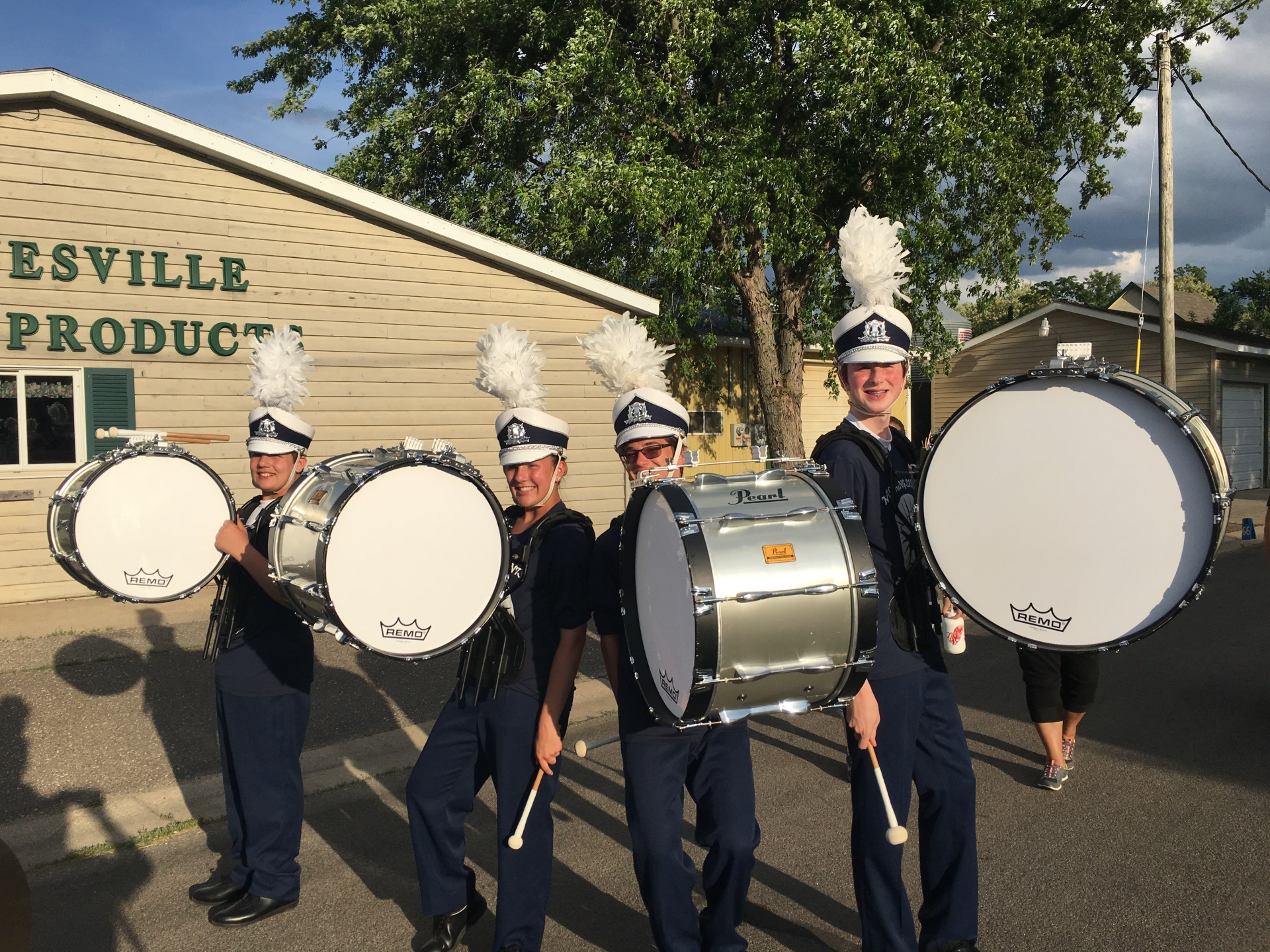 Marching Band Season Underway-Paynesville Parade